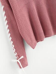 SHEIN Contrast Whipstitch Detail Jumper 1